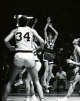 Pete Maravich shooting jumper