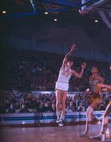 Pete Maravich shot from the corner