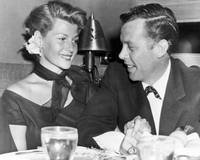 Rita Hayworth out to eat