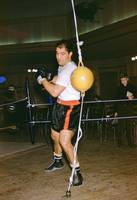 Rocky Marciano Training Hard