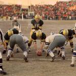 """Bart Starr at the goal line"" by RetroImagesArchive"