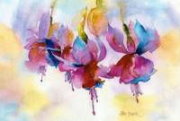 Fuchsia Watercolor