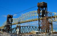 International Bridge. Sault Ste Marie, MI