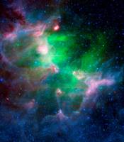 Eagle Nebula Infrared View