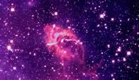 Carina Nebula Composite Visible & Infrared Light E