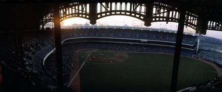 Beatiful view of Old Yankee Stadium