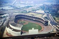 Yankee Stadium as viewed from above