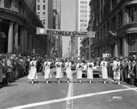1954 World Series Champions Giants Parade Retro Ch