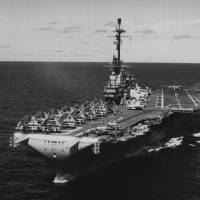 """""""USS Lexington"""" by RetroImagesArchive"""
