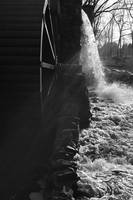 The Old Grist Mill - Black and White