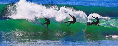 Triology of A Surfer