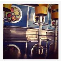 Retro Diner Seats Art Prints & Posters by Robert Cattan
