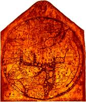 Hereford Mappa Mundi Enhanced White Corners