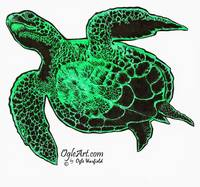 SeaTurtle-green-copyright