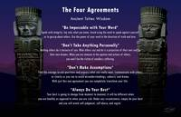 Four Agreements Poster