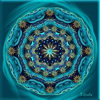 Happy mandala - Blessings Of Sun
