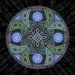 Celtic UFO Mandala by Kristen Fox