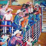 Contestants at the Gay Rodeo by RD Riccoboni