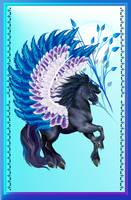 Blue Winged Pegasus