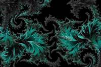 Green Paisley - A Fractal Abstract
