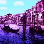 Violet Gondolas II Prints & Posters