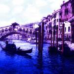 Blue Gondolas Prints & Posters