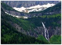 Glacier Waterfall by Carol Groenen