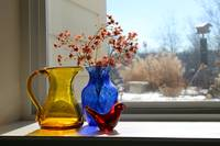 Glass Still Life by Window
