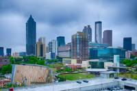 Downtown Atlanta, Georgia USA skyline