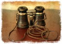 Antique Binoculars - old world