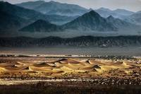 mesquite dunes from above