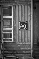 AG 00 silver sign
