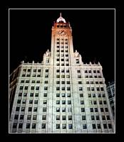 Wrigley Building @ Night