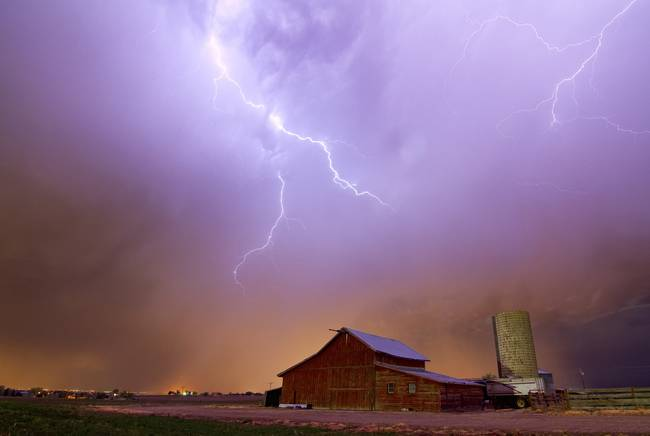 Country Stormy Night