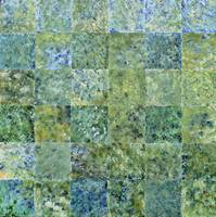 Green Blue Abstract Squares