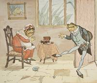 An illustration from 'A Frog He Would A-Wooing Go'