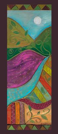 Lyrical Colors PANELS-Colorful Mountain Stream-Kar