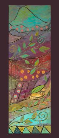 Lyrical Colors PANELS-Nautical Dreams-Karen Lee Tu