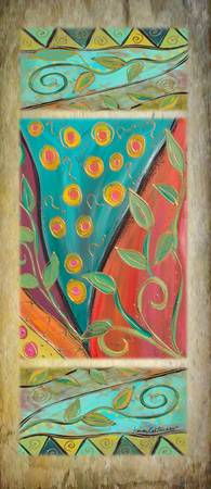 Rustica-Colorful Organic Panel-Karen Lee Turner