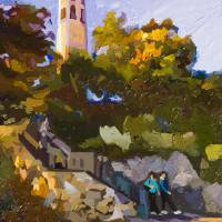 """""""Coit Tower"""" by russwagnerart"""