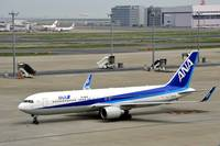 ANA's 2 years Old B-767/300 w/Winglets, JA624A