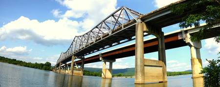 Tennessee River Bridge Day Pano 02