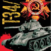 T34/76 Russian tank Art Prints & Posters by Philip Arena