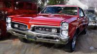 1967-Pontiac GTO in Red