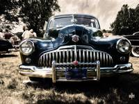 1946 Buick Estate Wagon Sepia Tone