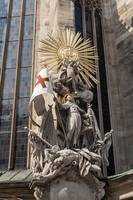 Statue of St. Francis, Stephansdom.
