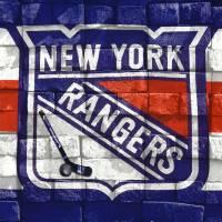 NY Rangers-2 Art Prints & Posters by Nina Bradica