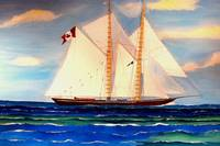Bluenose II Canadian Racing Schooner