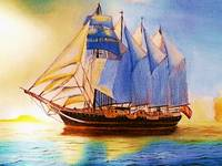 Four-masted Barquetine