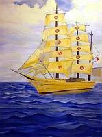 Spanish Barque Tall ship